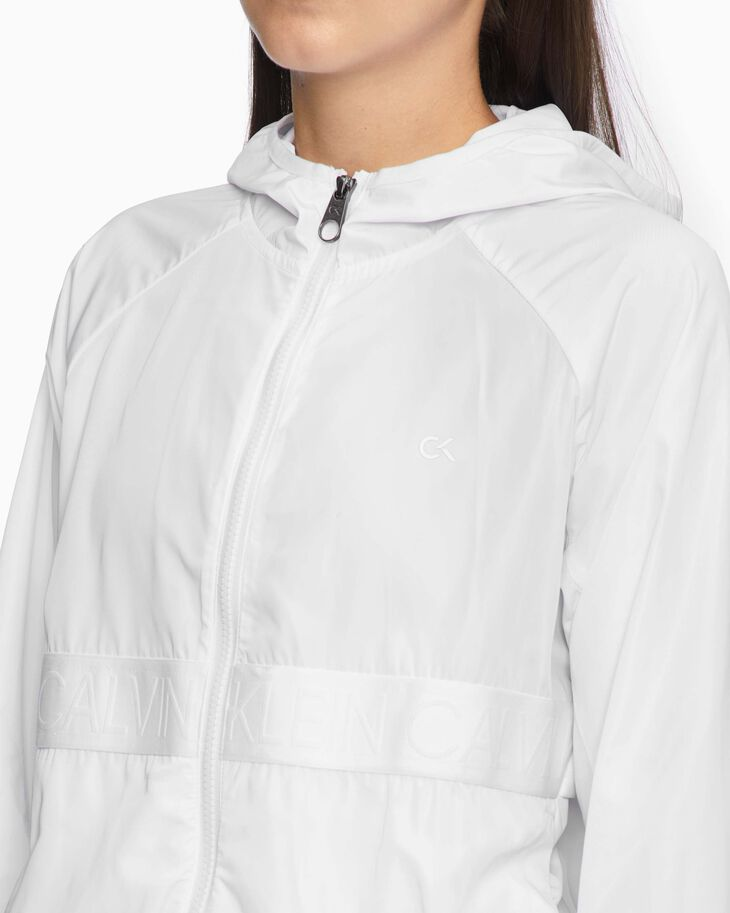 CALVIN KLEIN ACTIVE ICON HOODED JACKET
