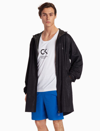 CALVIN KLEIN HOODED WINDBREAKER