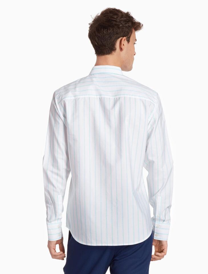CALVIN KLEIN 올오버 로고 셔츠