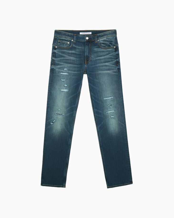 CALVIN KLEIN CKJ 027 DISTRESSED BODY JEANS