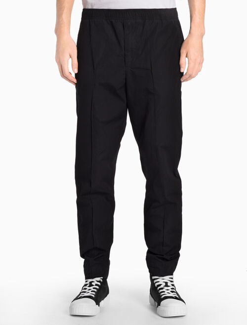 CALVIN KLEIN CK BLACK CASUAL DRAWSTRING PANTS