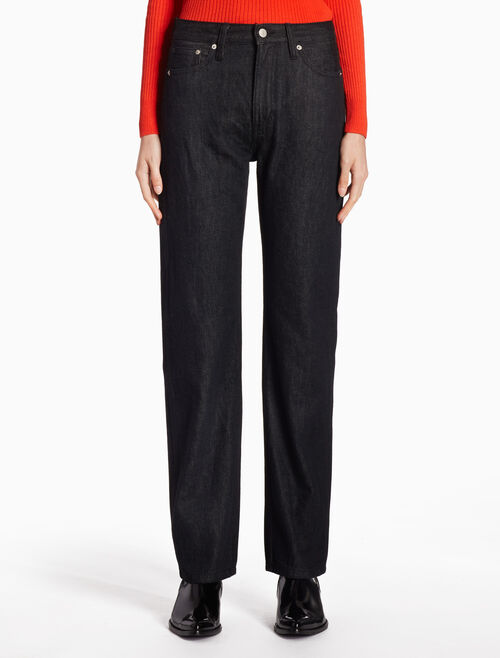 CALVIN KLEIN CKJ 030 WOMEN HIGH RISE STRAIGHT JEANS