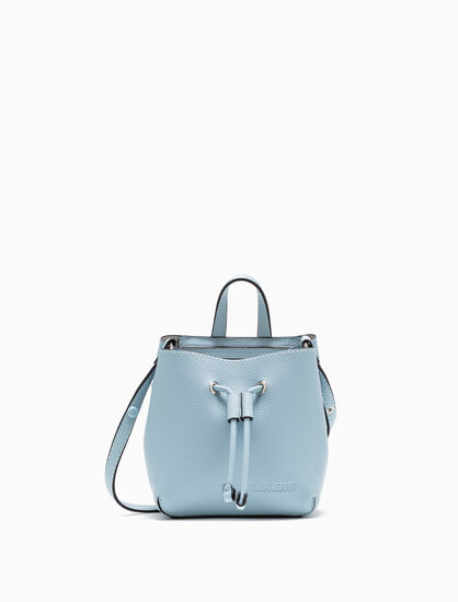 CALVIN KLEIN ULTRA LIGHT STUDIO BUCKET BAG