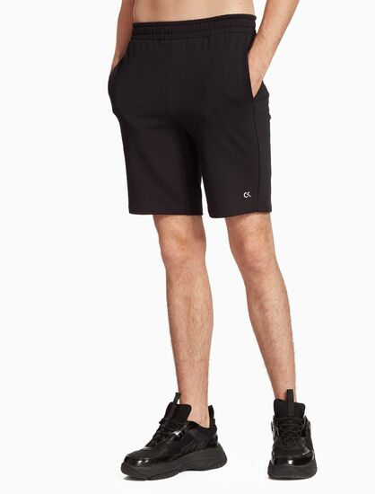 CALVIN KLEIN BOX LOGO SWEAT SHORTS