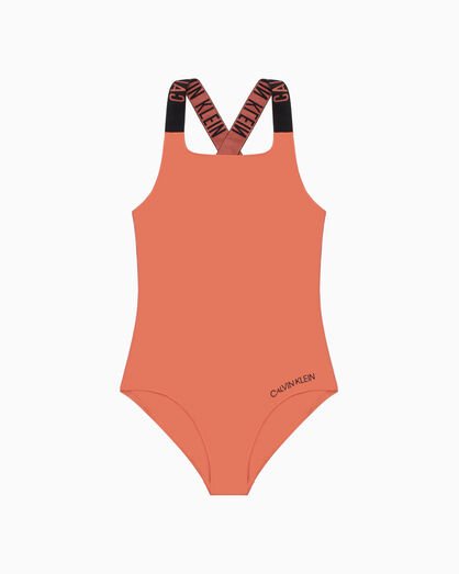 CALVIN KLEIN GIRLS ONE PIECE SWIMSUIT