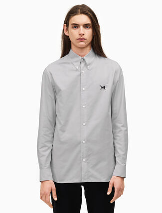 CALVIN KLEIN classic cotton oxford shirt
