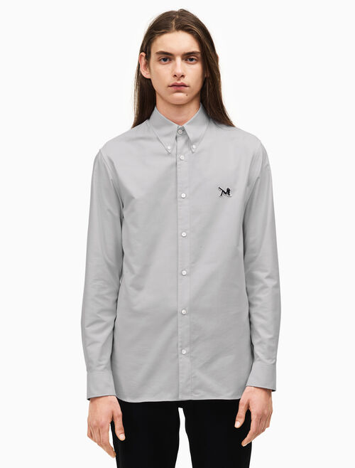 CALVIN KLEIN classic cotton oxford shirt