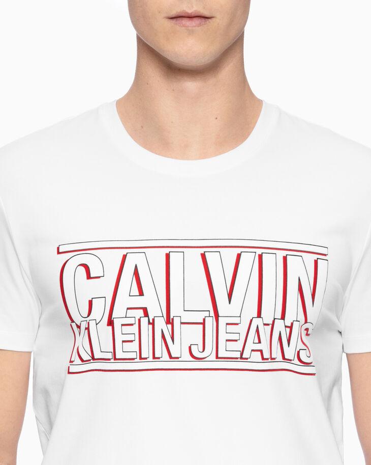 CALVIN KLEIN SHADOW LOGO TEE