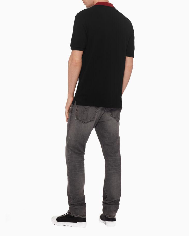 CALVIN KLEIN COTTON PIQUE LOGO 셔츠