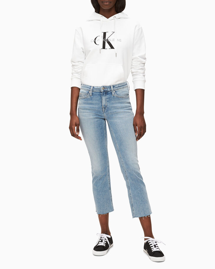 CALVIN KLEIN MONOGRAM LOW TOP SNEAKERS