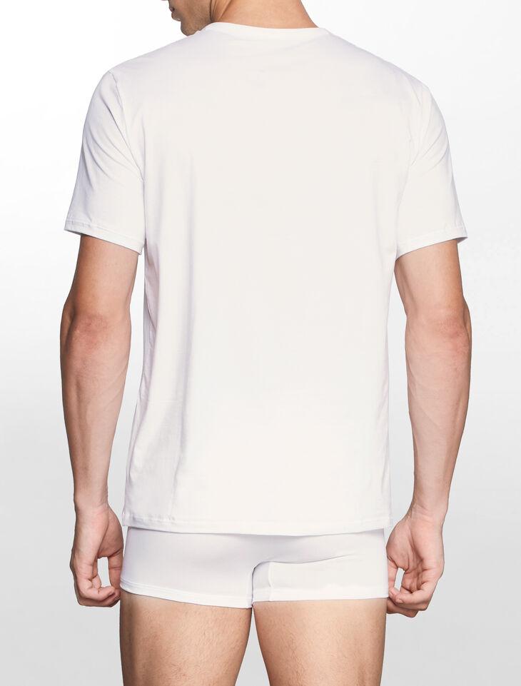 CALVIN KLEIN CK BLACK COTTON Short Sleeves CREW NECK TEE