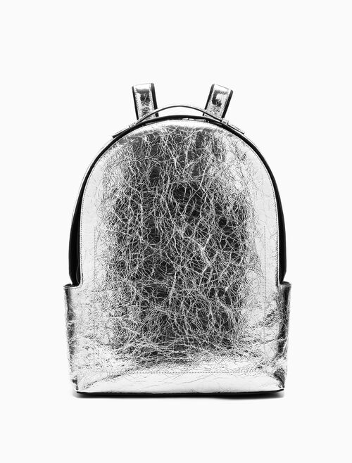 CALVIN KLEIN METALLIC CAMPUS BACKPACK