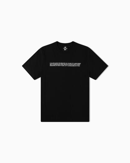 CALVIN KLEIN CK50 LOGO RELAXED 티셔츠
