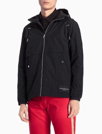 CALVIN KLEIN フード付きジップジャケット