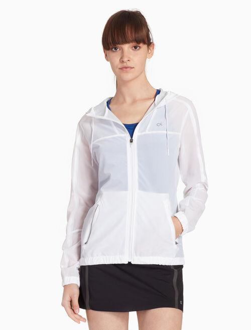 CALVIN KLEIN X RAY WORKOUT JACKET