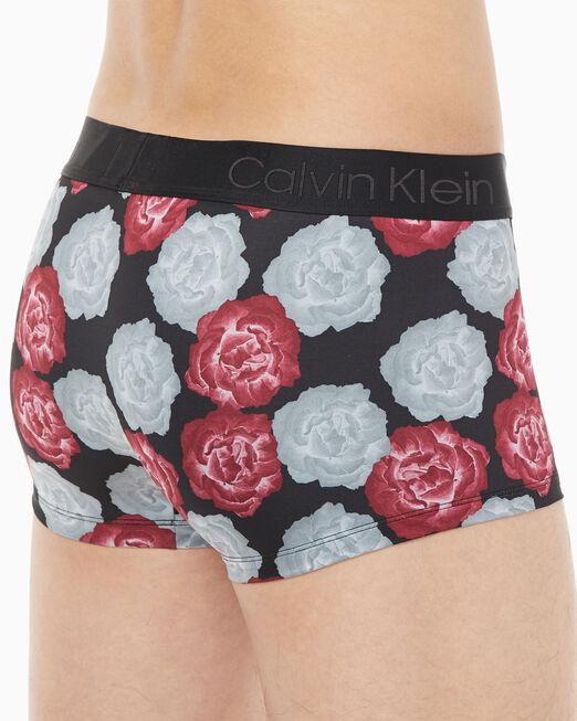 CALVIN KLEIN CK BLACK PRINT LOW RISE TRUNKS