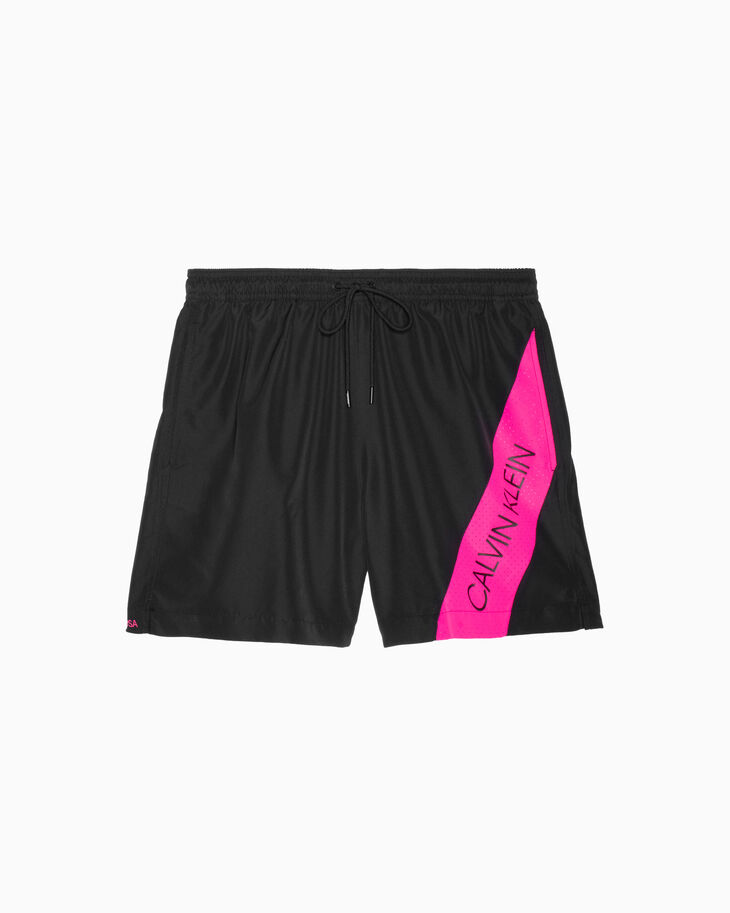 CALVIN KLEIN CK BLOCKING MEDIUM DRAWSTRING SHORTS