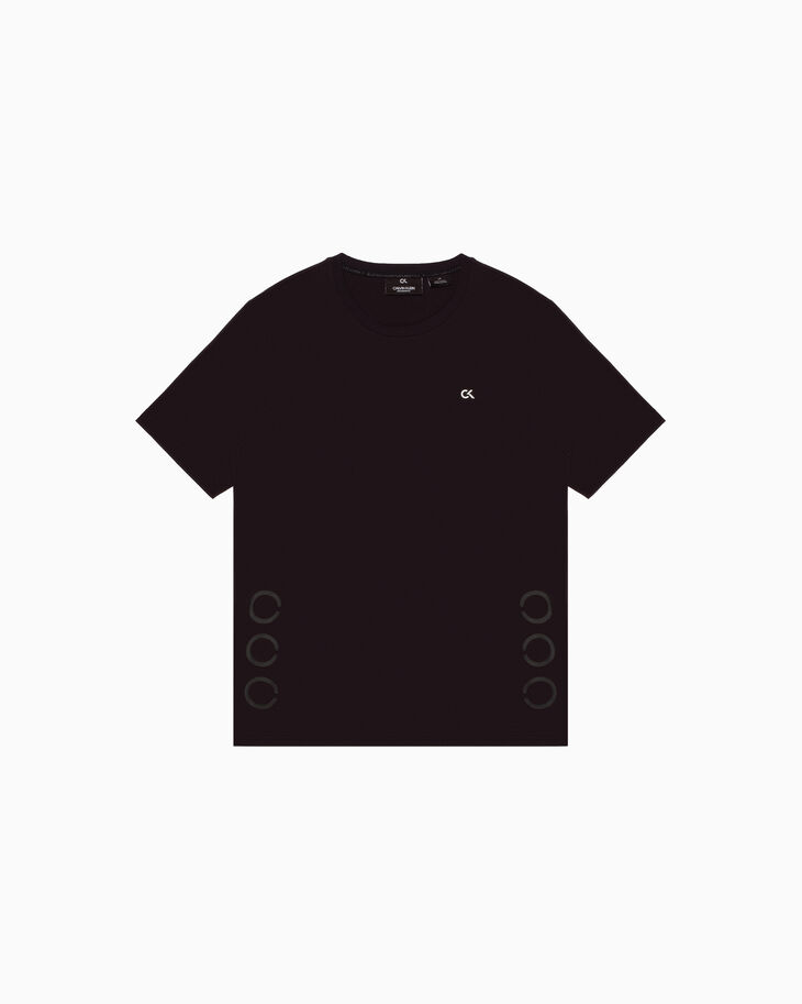 CALVIN KLEIN STATEMENT ESSENTIALS サークル T シャツ