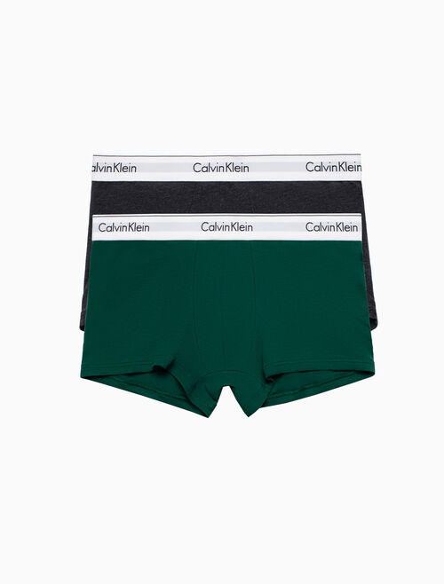bd3d260ed6 CALVIN KLEIN MODERN COTTON STRETCH 2-PACK TRUNK Quickshop. CALVIN KLEIN  UNDERWEAR