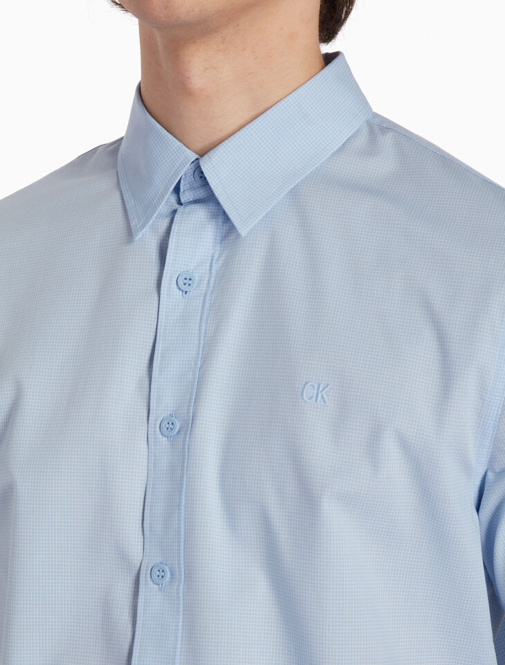 CALVIN KLEIN WOVEN CHECKED 셔츠