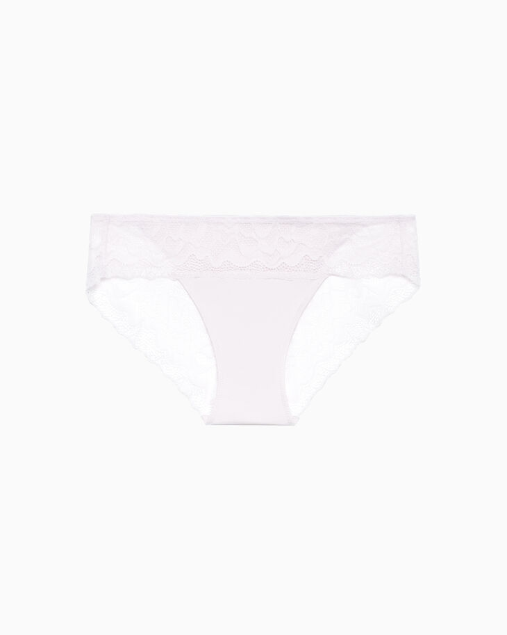 CALVIN KLEIN PERFECTLY FIT ETCHED LACE BIKINI