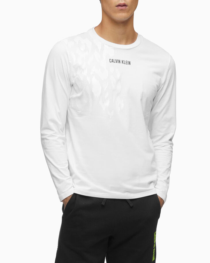 CALVIN KLEIN DIGITAL MOTION GRAPHIC LONG SLEEVE TEE