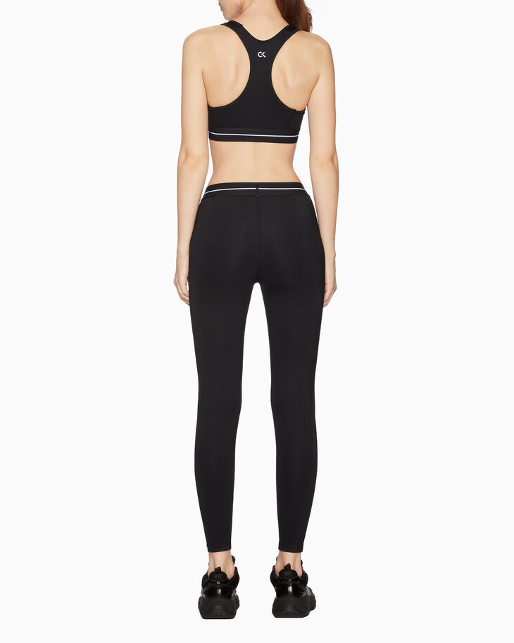 CALVIN KLEIN GRAPHICS LOGO SPORTS BRA