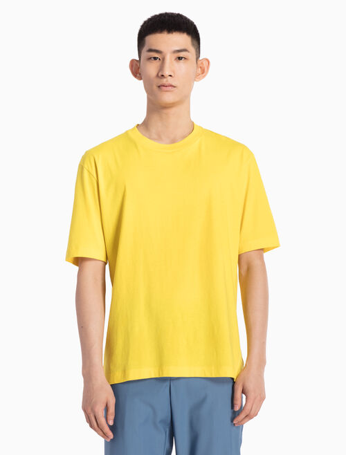 CALVIN KLEIN ニットポップカラー T シャツ