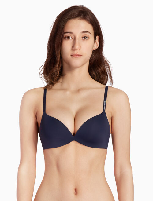 CALVIN KLEIN FORM PUSH UP PLUNGE BRA