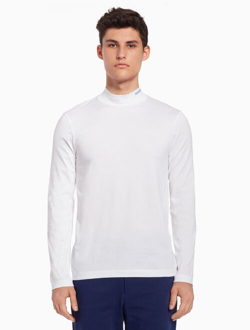 CALVIN KLEIN Logo turtleneck top