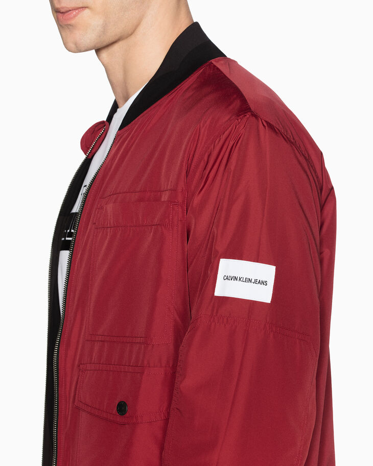 CALVIN KLEIN INSTITUTIONAL REVERSIBLE BOMBER