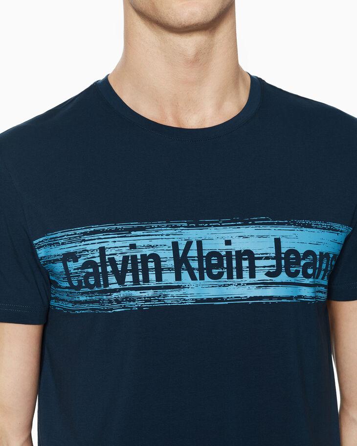 CALVIN KLEIN INSTITUTIONAL LOGO GRAPHIC TEE
