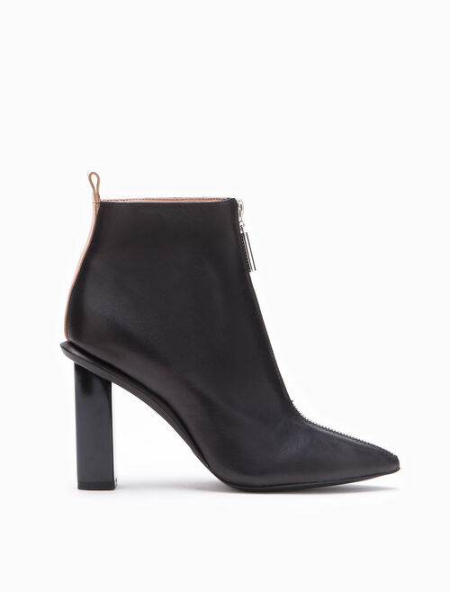 CALVIN KLEIN CARLISSA LEATHER BOOTIE