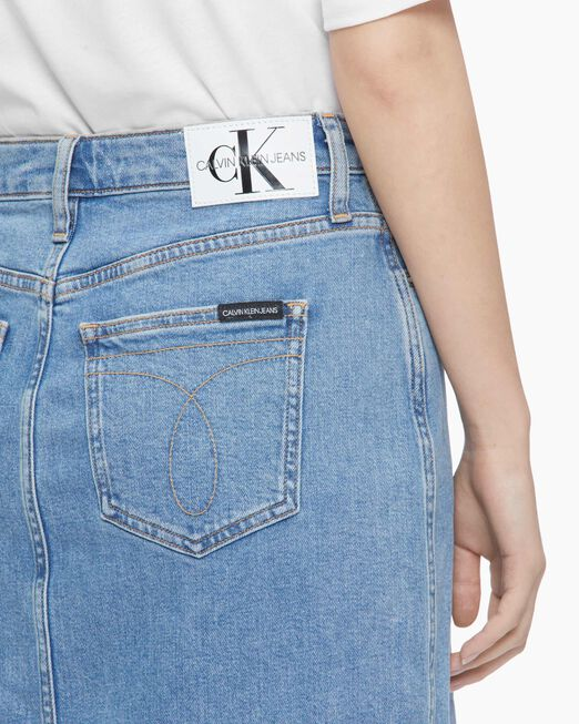 CALVIN KLEIN SUSTAINABLE ICONS MAXI 스커트