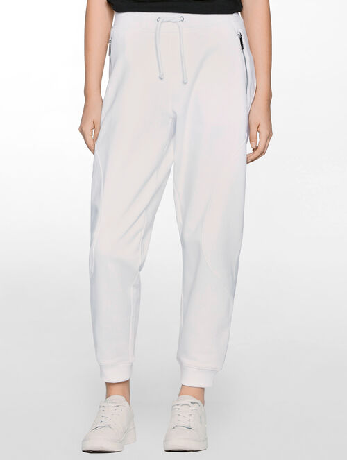 CALVIN KLEIN WOMEN - HYPER CURVE ROUNDED SWEATPANTS
