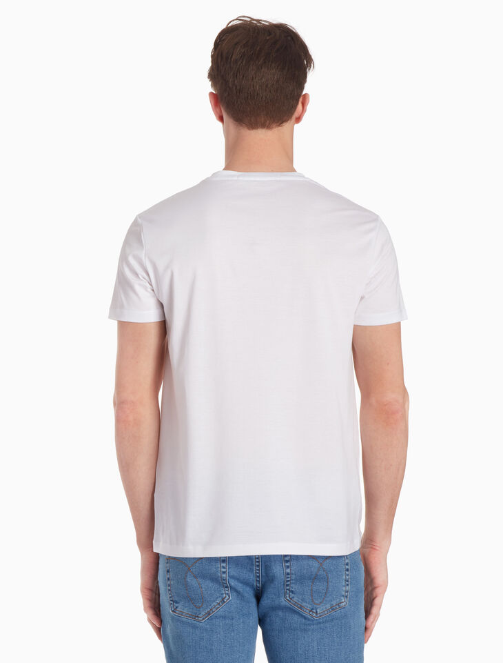 CALVIN KLEIN MERCERIZED COTTON TEE