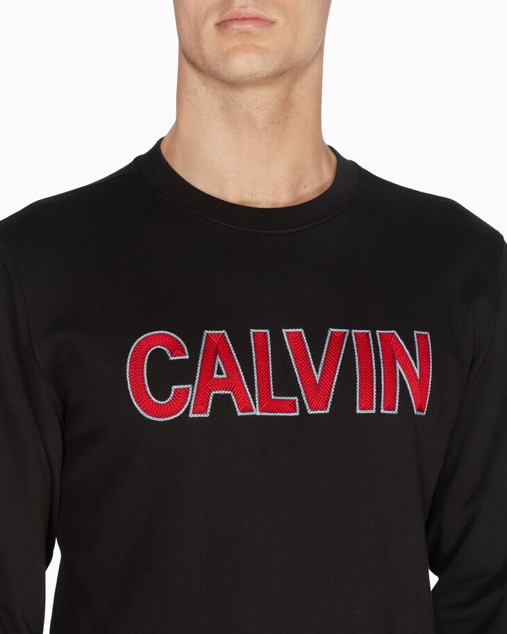 CALVIN KLEIN CALVIN LOGO SWEATSHIRT