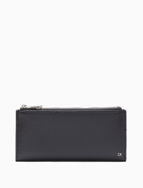 CALVIN KLEIN DOUBLE LONG FOLD WALLET