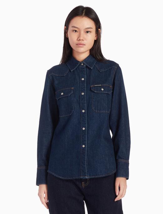 08457938cda BUY WESTERN LEAN SHIRT - Calvin Klein Hong Kong