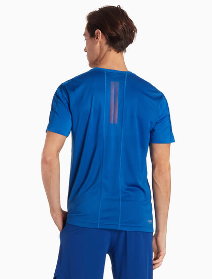 CALVIN KLEIN 리플렉티브 반소매 티셔츠