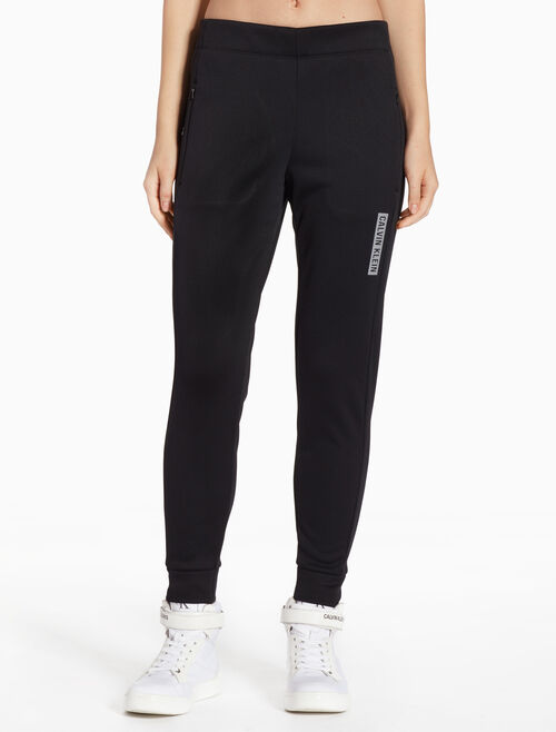 CALVIN KLEIN BONDED FLEECE SWEAT PANTS