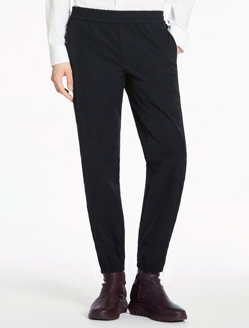 CALVIN KLEIN HIGH DENSITY MICROFIBER ZIP-UP PANTS