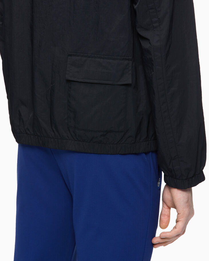 CALVIN KLEIN REFLECTIVE TAPE WINDBREAKER