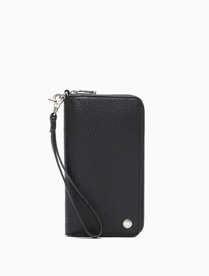 CALVIN KLEIN ZIP AROUND PHONE CASE