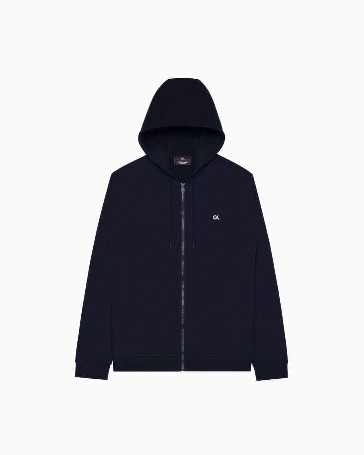 CALVIN KLEIN STATEMENT ESSENTIALS BILLBOARD ZIP UP HOODIE