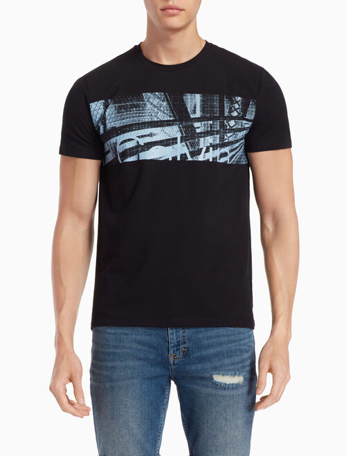 CALVIN KLEIN CITYSCAPE LOGO 티셔츠