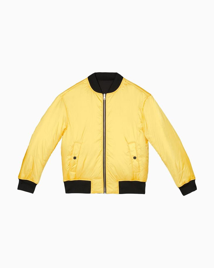CALVIN KLEIN MOON LANDINGS REVERSIBLE BOMBER JACKET