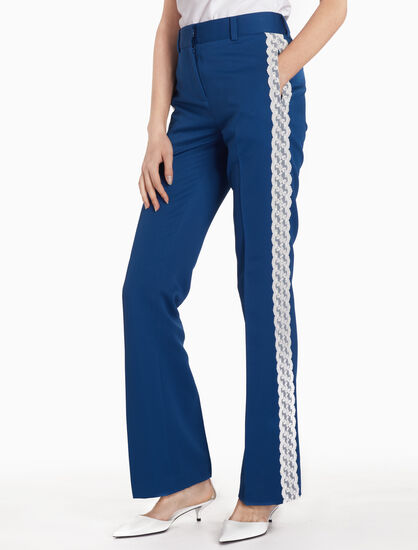 CALVIN KLEIN FLARE LEG DRESS PANTS
