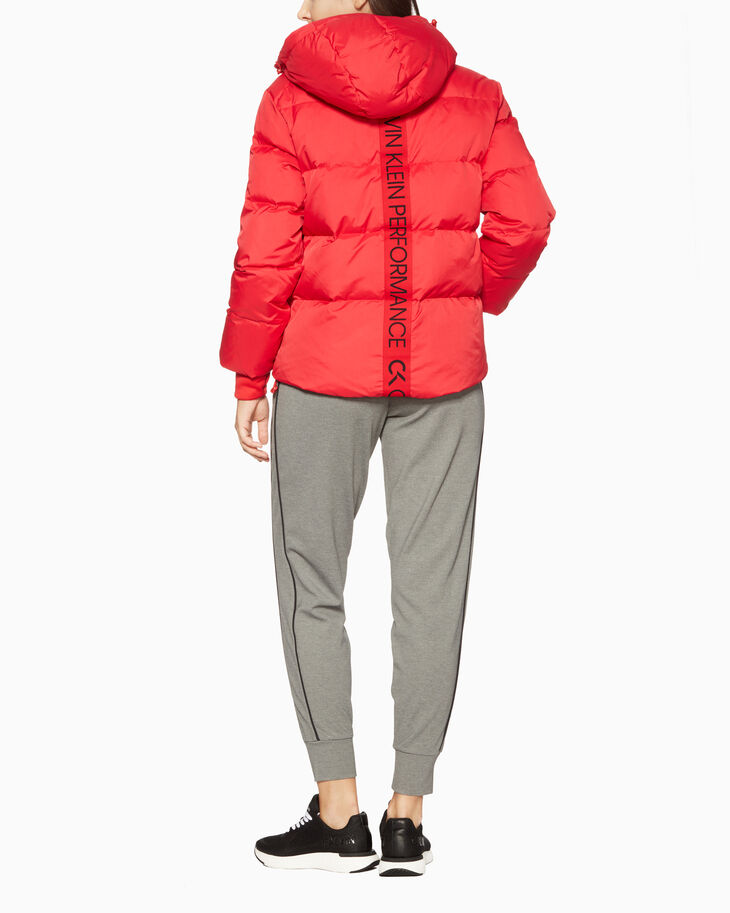 CALVIN KLEIN GALAXY HOODED PUFF JACKET