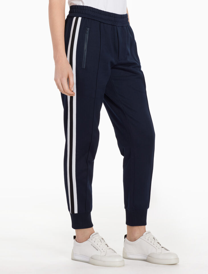 CALVIN KLEIN MERCERIZED STRETCH FERRY JOGGERS
